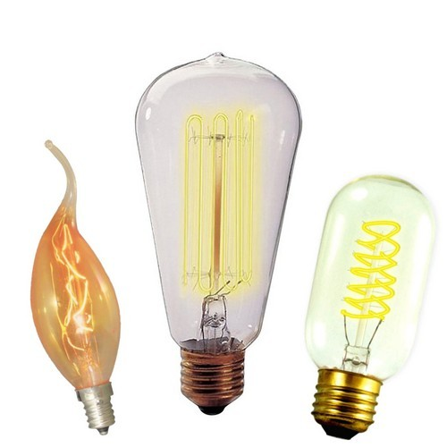 Vintage and Nostalgic bulbs