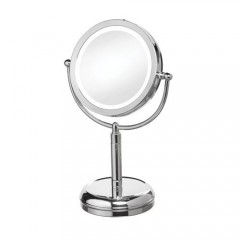 Dainolite LEDMIR-2T-PC Satin Chrome Magnifier Mirrors