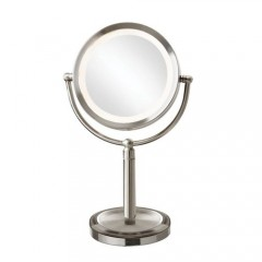Dainolite LEDMIR-2T-SC Polished Chrome Magnifier Mirrors