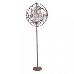 Elegant Lighting 1130FL24RI-RC Dark Bronze