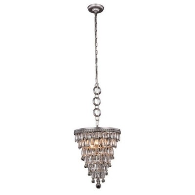 Elegant Lighting 1219D13AS-RC Antique Silver Nordic