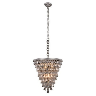 Elegant Lighting 1219D18AS-RC Antique Silver Nordic