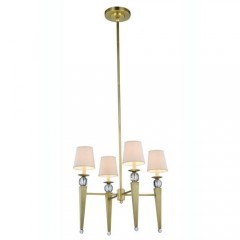 Elegant Lighting 1489D26BB Burnished Brass Olympia