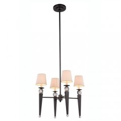 Elegant Lighting 1489D26BZ Bronze Olympia