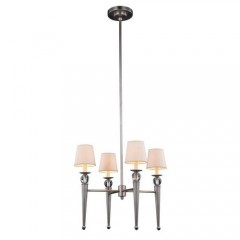 Elegant Lighting 1489D26VN Vintage Nickel Olympia