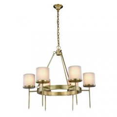 Elegant Lighting 1504D35BB Burnished Brass Bradford