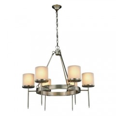 Elegant Lighting 1504D35VN Vintage Nickel Bradford