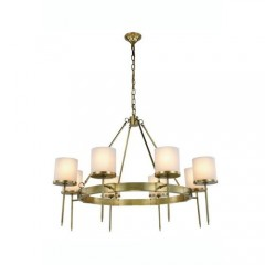 Elegant Lighting 1504G45BB Burnished Brass Bradford