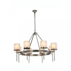 Elegant Lighting 1504G45VN Vintage Nickel Bradford