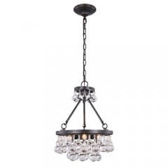 Elegant Lighting 1509D15BZ Bronze Bettina