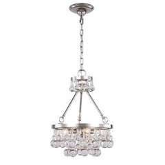 Elegant Lighting 1509D15PN Polished Nickel Bettina