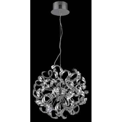 Elegant Lighting 2068D19C-EC Chrome Tiffany