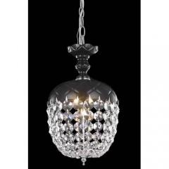 Elegant Lighting 7801D8B-RC Black Rococo