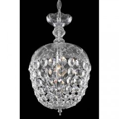 Elegant Lighting 7801D8C-RC Chrome Rococo