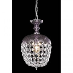Elegant Lighting 7801D8PE-RC Purple Rococo
