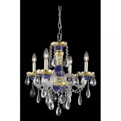 Elegant Lighting 7810D19BE-EC Blue Alexandria  sc 1 st  RBdelaa Lighting & Colored Crystal Chandeliers - RBdelaa Lighting  Page 1