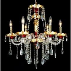 Elegant Lighting 7810D24G-SS Gold Alexandria