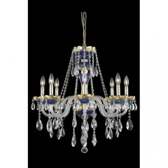 Elegant Lighting 7810D26BE-SS Blue Alexandria