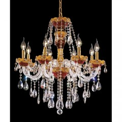 Elegant Lighting 7810D26G-EC Gold Alexandria