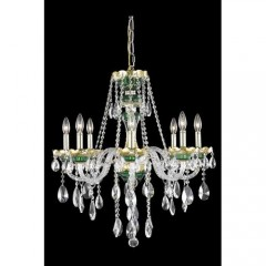 Elegant Lighting 7810D26GN-EC Green Alexandria