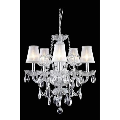 Elegant Lighting 7835D20C-RC+SH Chrome
