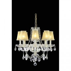 Elegant Lighting 7838D20G-RC+SH Chrome