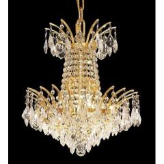 Elegant Lighting 8033D16G-SA Gold Victoria