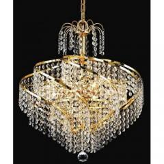 Elegant Lighting 8052D18G-SA Gold Spiral