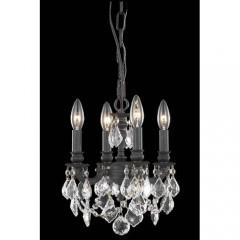 Elegant Lighting 9104D10DB-SS Dark Bronze Lillie