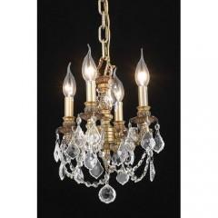 Elegant Lighting 9104D10FG-SS French Gold Lillie