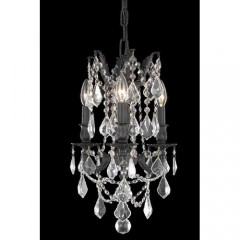 Elegant Lighting 9203D13DB-GT-SS Dark Bronze Rosalia