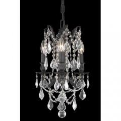 Elegant Lighting 9203D13DB-SS Dark Bronze Rosalia