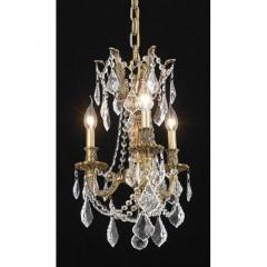 Elegant Lighting 9203D13FG-SS French Gold Rosalia