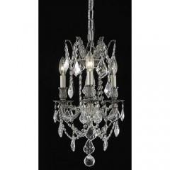 Elegant Lighting 9203D13PW-SS Pewter Rosalia