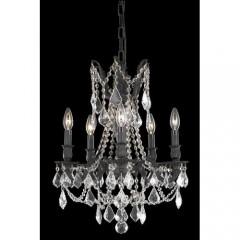 Elegant Lighting 9205D18DB-SA Dark Bronze Rosalia