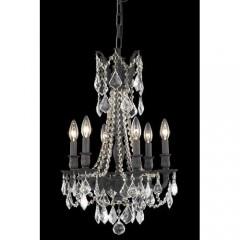 Elegant Lighting 9206D16DB-RC Dark Bronze Rosalia