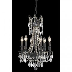 Elegant Lighting 9206D16DB-SA Dark Bronze Rosalia