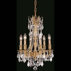 Elegant Lighting 9206D16FG-RC French Gold Rosalia