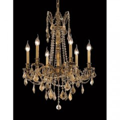 Elegant Lighting 9206D23FG-GT-RC French Gold Rosalia