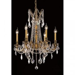 Elegant Lighting 9206D23FG-RC French Gold Rosalia