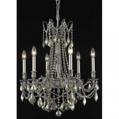 Elegant Lighting 9206D23PW-GT-SS Pewter Rosalia