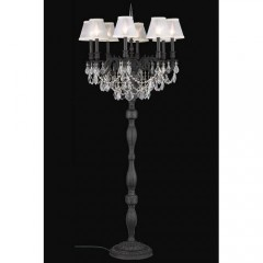 Elegant Lighting 9208FL24DB+SH-1R6S-RC Dark Bronze