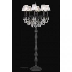 Elegant Lighting 9208FL24DB+SH-1R6S-SA Dark Bronze