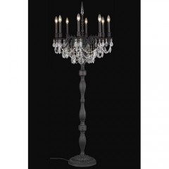 Elegant Lighting 9208FL24DB-SS Dark Bronze