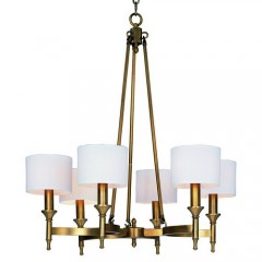 Maxim 22375OMNAB Natural Aged Brass Fairmont