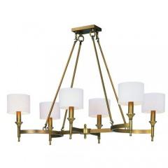 Maxim 22376OMNAB Natural Aged Brass Fairmont