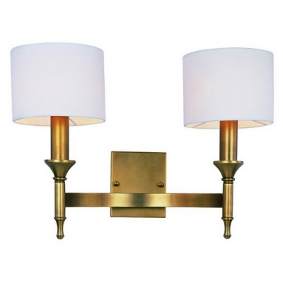 Maxim 22379OMNAB Natural Aged Brass Fairmont