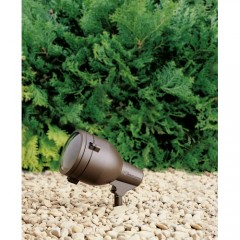 Kichler 15241AZT Textured Architectural Bronze HID High Intensity Discharge