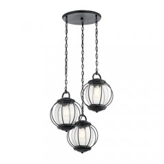 Kichler 49732BKT Textured Black OUTDOOR