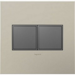 Legrand ARPTR152GM2 Magnesium Outlets